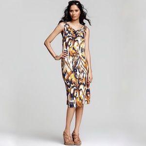 Tory Burch Drawstring Verda Silk-Jersey Dress